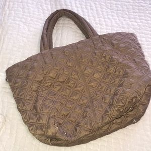 Ann Taylor quilted tote